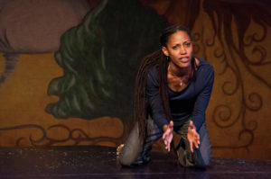 Marti Gobel in Renaissance Theaterworks' 2012 production of NEAT by Charlayne Woodard
